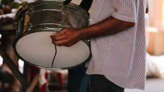 Musicien de forro au Brésil