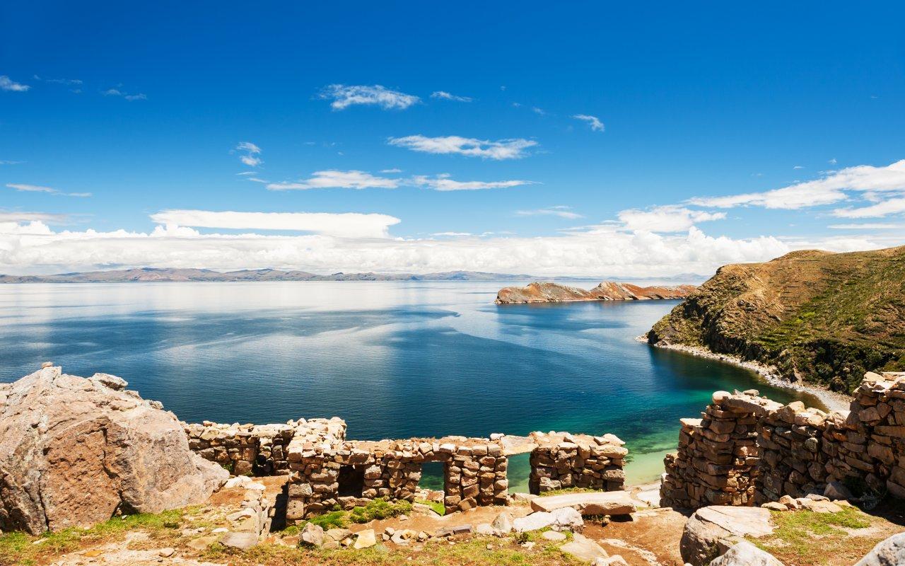 Isla del Sol en Bolivie