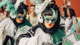 Carnaval d'Olinda au Brésil