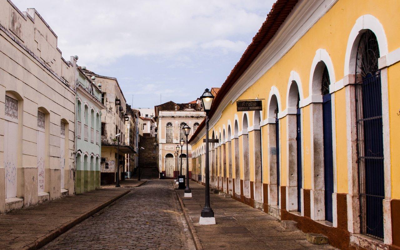Sao Luis dans le Nordeste du Brésil