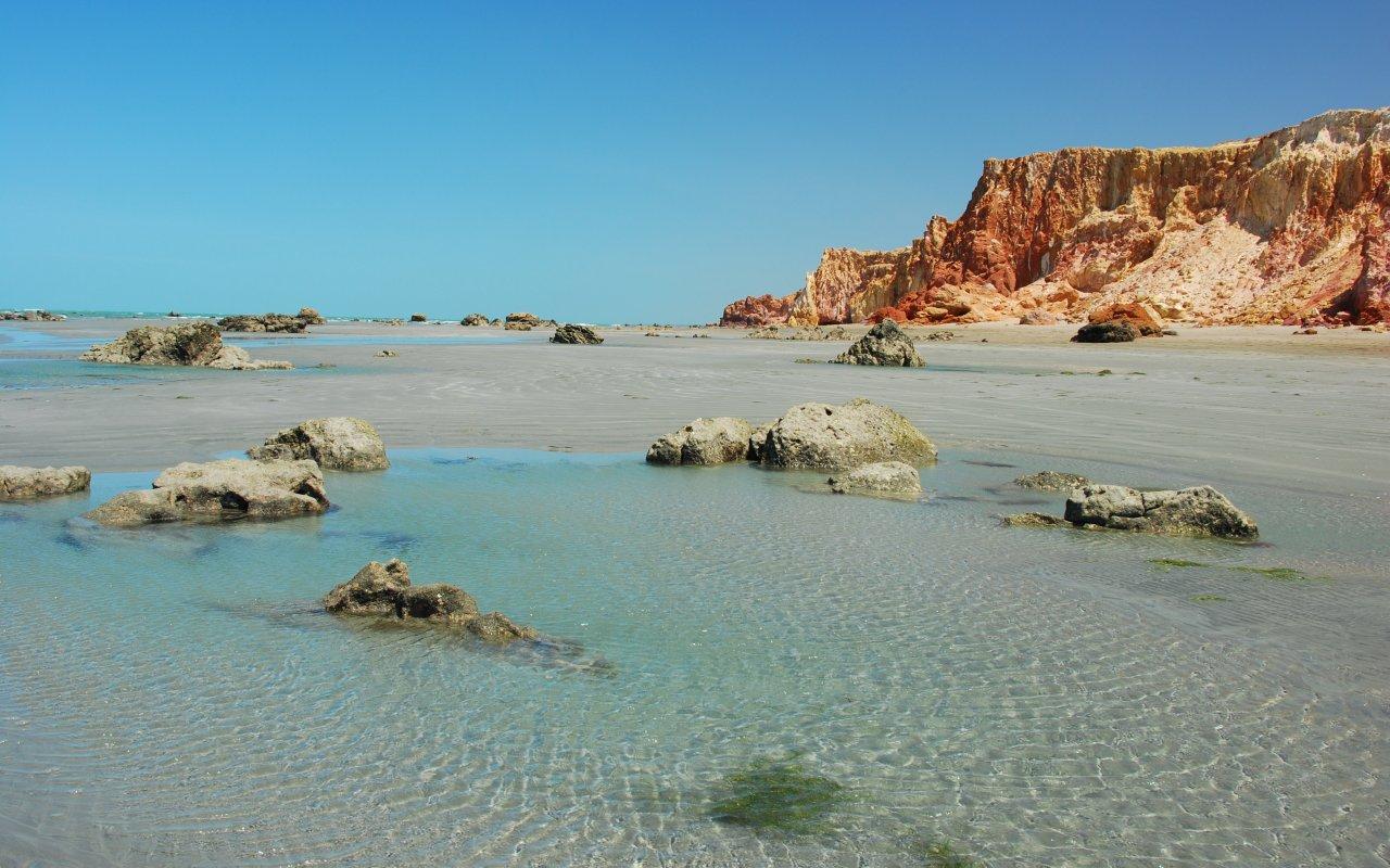 Les eaux cristallines du nordeste au Brésil