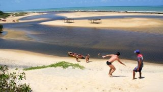 La plage de Baia Formosa dans le Nordeste