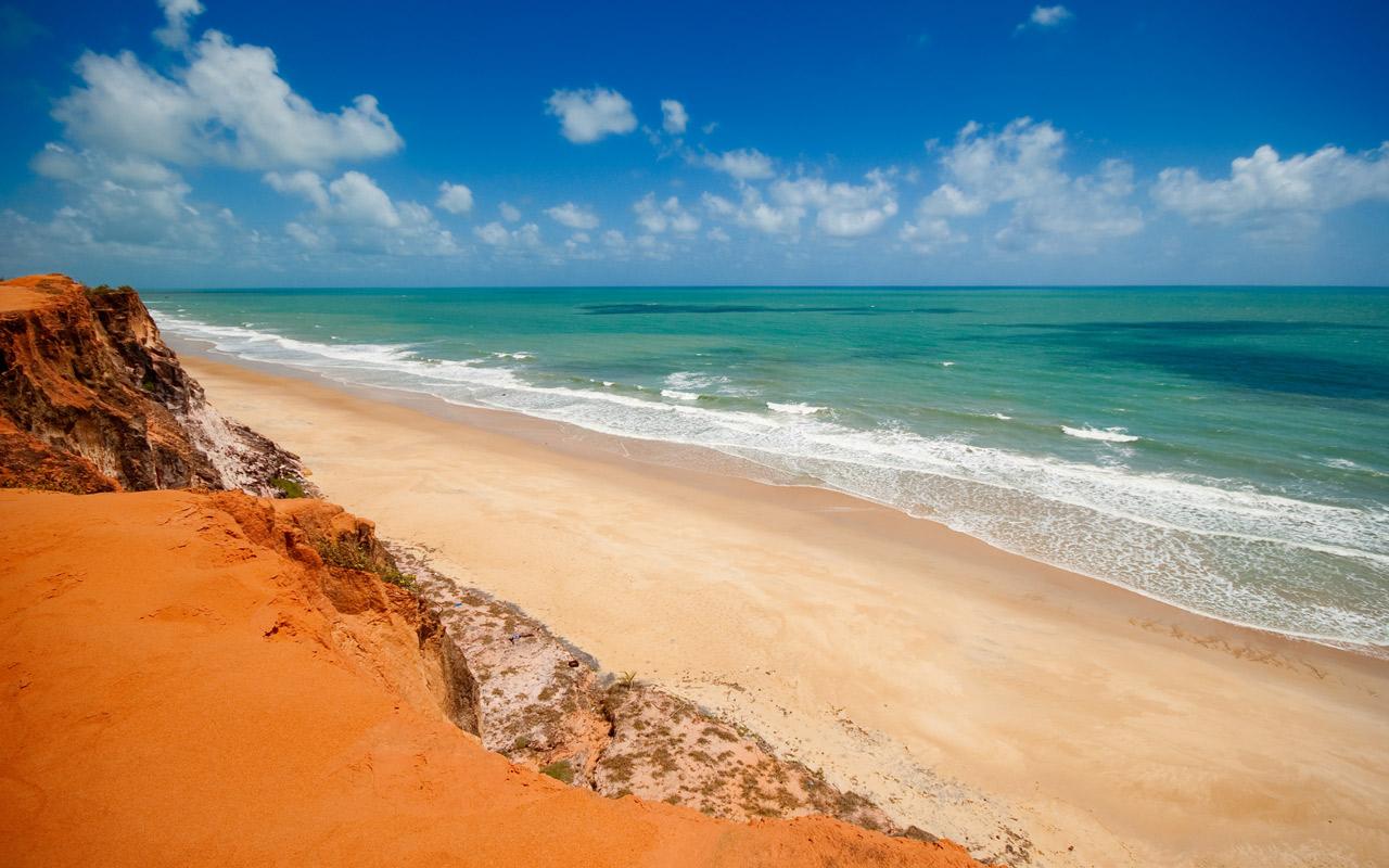 Praia da Pipa l'une des plus belles plages du Brésil