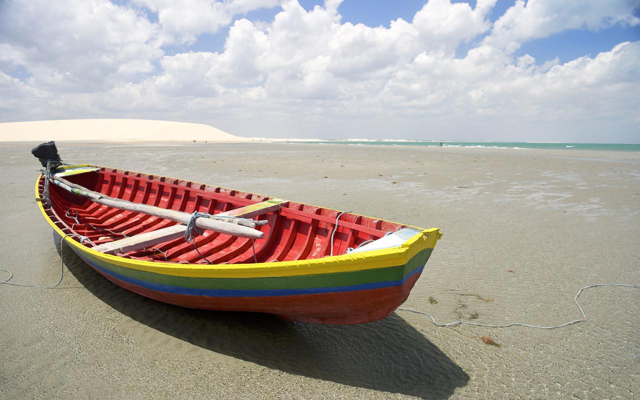 Les plages du Nordeste au Brésil