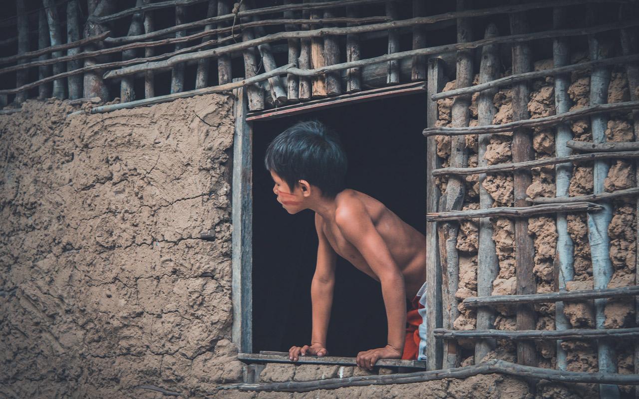 Rencontre avec la communauté indigène de Potiguara au Brésil