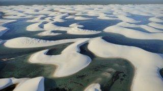 Les lagunes des Lençois Maranhenses au Brésil
