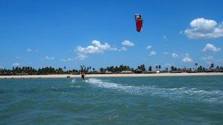 Kitesurf dans le Nordeste au Brésil