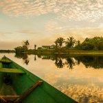 Navigation en Amazonie au Brésil
