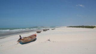 La plage de Prea au Brésil
