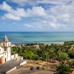 Cathédrale à Olinda au Brésil