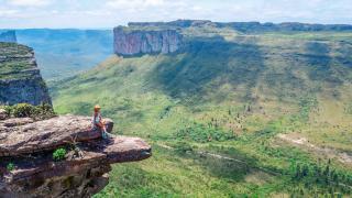 Panorama de la Chapada Diamantina au Brésil