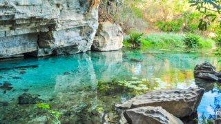 La grotte de Pratinha dans le parc de la Chapada Diamantina au Bréil
