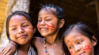 Rencontre d'une communauté indigène en Amazonie