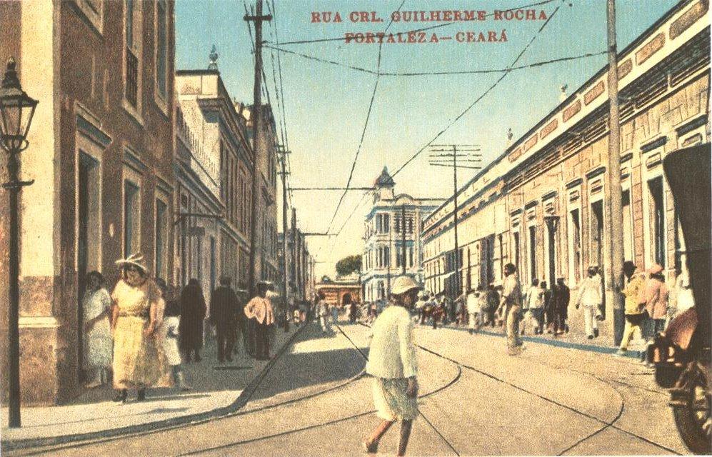 Ancienne photo de la ville de Fortaleza au Brésil