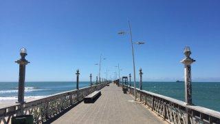 Jetée de Fortaleza au Brésil