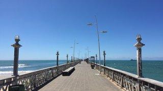 La jetée de Fortaleza au Brésil