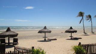 Hotel sur une plage de Guajiru dans le Nordeste au Brésil
