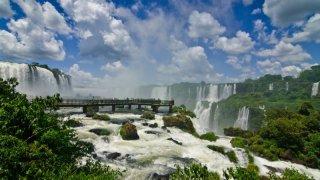 Les chutes d'Iguazu au Brésil