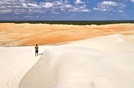Les dunes du Nordeste au Brésil
