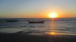Coucher de soleil à Jericoacoara au Brésil