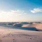 Les dunes et lagunes de Lençois au Brésil