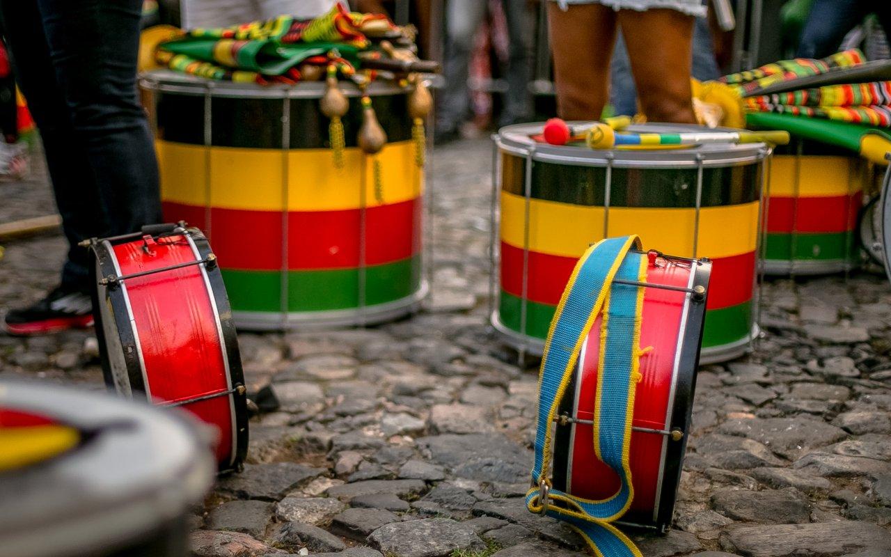 Musique afro-brésilienne à Salvador de Bahia au Brésil