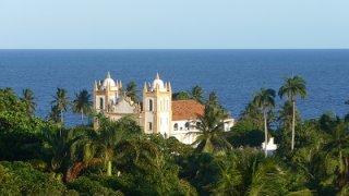 Eglise d'Olinda dans le Pernambuco au Brésil