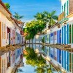 Centre historique de Paraty au Brésil
