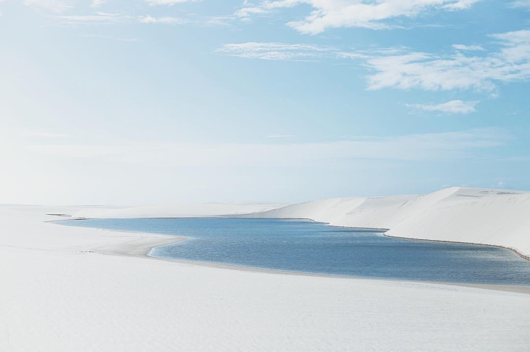 Les dunes du Parc national des Lençóis Maranhenses au Brésil