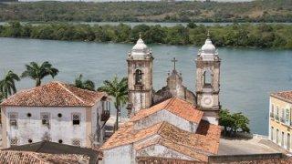 La ville de Penedo au Brésil