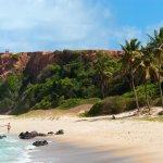 Praia do Amor près de Pipa au Brésil