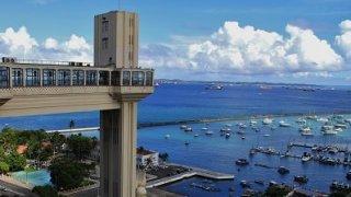 Ascenseur Lacerda à Salvador de Bahia