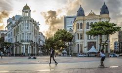 Centre ville de Recife dans le Nordeste au Brésil